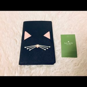 Kate Spade Cat Passport And Card Holder